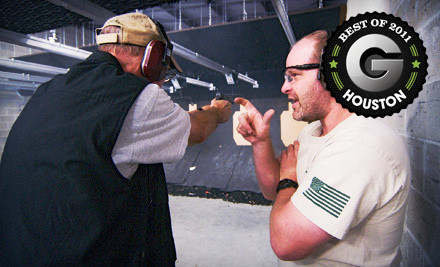 Shooting-Range Package for 1 - Spring Guns and Ammo in Spring