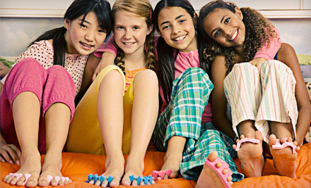 Choice of a 2-Hour Pow-Wow Jam, Fab Lane, or Dreaming Princess Party for Up to Six Girls (a $200 value) - D.R.E.A.M.S. Mobile Charming Spa Parties for Girls in