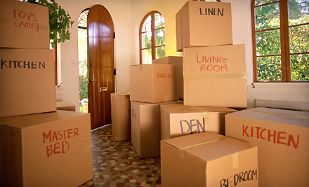 $40 Groupon Worth of Moving Boxes and Supplies - Blue Whale Moving & Storage in Austin