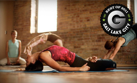 10 Yoga Classes (up to a $100 value) - Centered City Yoga in Salt Lake City