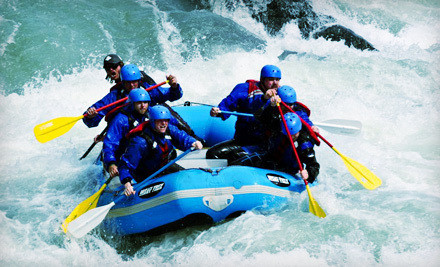 Single Rider on an All-Day Family Raft Adventure on the Skykomish River (a $95 value) - Outdoor Adventure Center in Index