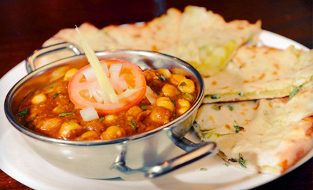 Indian Fare for 2 - Kulcha Corner in Jersey City