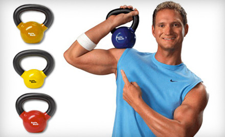 KettleWorx Ultra System: 5-Pound Kettlebell (a $90 value) - Kettlebell Workout System in