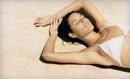 6 Acoustic-Wave-Therapy Cellulite-Reduction Treatments on 1 Large Area (a $1800 value) - Recharge Cellupulse in Herndon