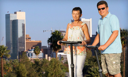 90-Minute Segway Tour for 1 (a $100 value) - Segway Expeditions in Phoenix
