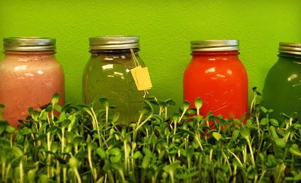 Two-to-Three Day Green Warrior Raw-Food-and-Juice Cleanse (a $199 value) - Earthly Juices in Tustin