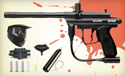 Groupon Goods - Paintball Gun Set in