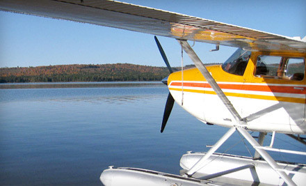 Fly and Dine Trip for 2 (a $250 value) - Acadian Seaplanes in Rangeley