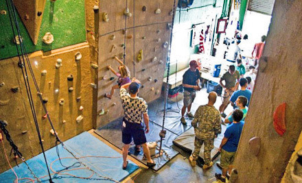 Two 1-Month, All-Access Climbing Passes (a $90 value) - The North Texas Outdoor Pursuit Center in Carrollton
