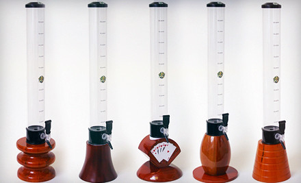 Beehive Wood Base (a $169 value) - Beer Tubes in