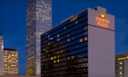 One-Night Stay for Two Adults in a Standard Room. Up to Two Kids Stay Free. - Crowne Plaza Downtown Denver in Denver
