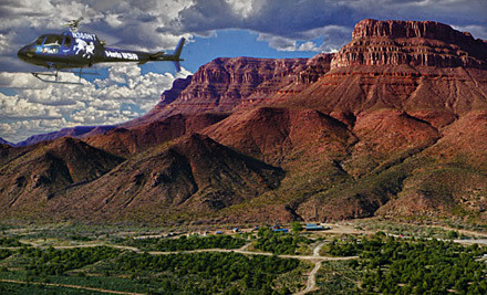 Grand Canyon Overnight Escape for One Adult (a $699 value) - Heli USA Airways and Grand Canyon Ranch in Las Vegas