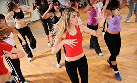 Four 1-Hour Zumba, Salsa, or Pilates Mat Classes (an $80 value) - The Vertitude in Canoga Park