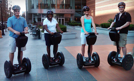 2-Hour Appetizer-Tasting Segway Tour of Uptown and South End for 1 (a $75 value) - Charlotte NC Tours in Charlotte