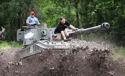 Tank Driving Experience for 1 Person on Fri. April 13 (a $429 value) - Drive A Tank in Kasota