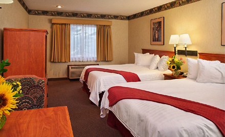 2-Night Stay for Two in a King Suite with a Romance Package  - The Ashley Inn of Tillamook  in Tillamook