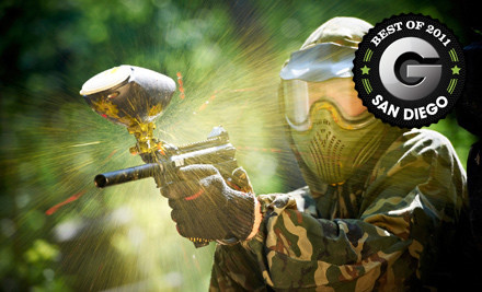 Paintball Outing with the Starter Rental Package - The Paintball Park in Oceanside