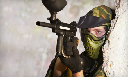 Paintball Package for Two (a $40 value) - Ellen's Amusement Center in Cedar Hill