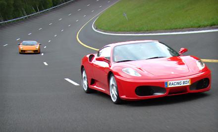 1 Lap in a Ferrari, Lamborghini, or Aston Martin (a $259 value) - Racing Box in Summit Point