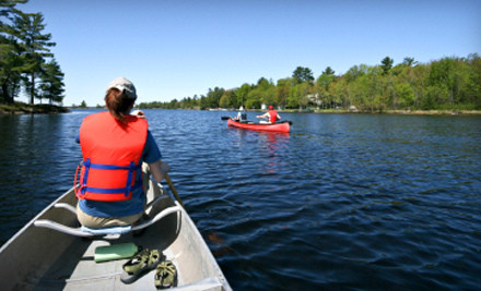 Half-Day River Trip Valid on Weekends (a $75 value)  - River's Edge Kayak & Canoe Trips in Healdsburg