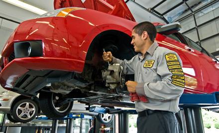 4 Standard Oil Changes - Precision Tune Auto Care in Las Vegas