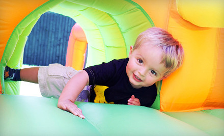 5 Open-Bounce Drop-In Visits (a $30 value) - Bouncin Bonkers in Crest Hill