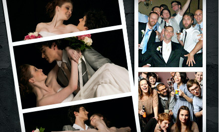 3-Hour Essential Photo-Booth Rental Package Including a CD with all Pictures (a $699 value) - Photobelle Photo Booth in