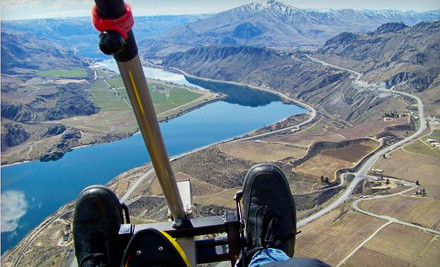 30-Minute Instructional Discovery Flight (a $120 value) - Adventure Aviation Trike Flights in Chelan