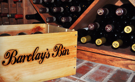 Barclay's Wine - Barclay's Bin in