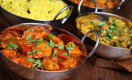 Dinner for 2 (up to a $45.80 value) - India Pavilion Restaurant in Cambridge
