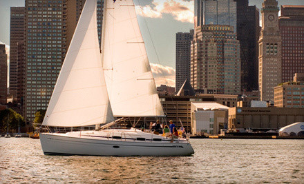 1 Two-Hour Open-Water Sailing Lesson (a $240 value) - Boston Sailing Center in Boston