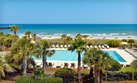 One-Night Stay for Two Adults in a Standard Room. Up to Two Kids 16 or Younger Stay Free. - Springmaid Beach Resort in Myrtle Beach
