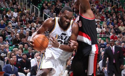 Utah Jazz vs. Detroit Pistons at EnergySolutions Arena on Mon., March 12 at 7PM: P9 Seating - Utah Jazz in Salt Lake City
