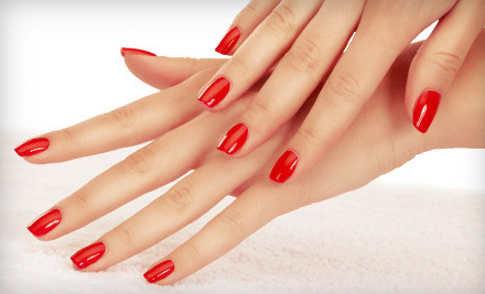 Shellac Manicure (a $35 value) - Blades Salon & Day Spa in Orlando