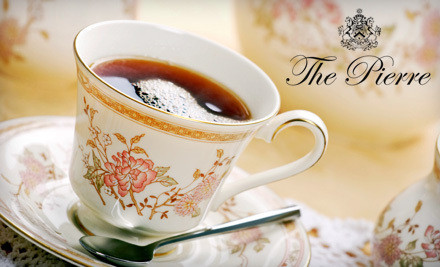 Afternoon Sweet Tea Service for Two with Fine Tea, Scones, and Pastries (a $90 value) - Two E Bar/Lounge at The Pierre in Manhattan