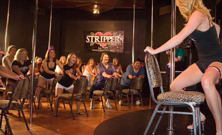 Stripper 101 Pole-Dancing-Class Package for 1 Person (a $46.98 value) - Stripper 101 - V Theater in Las Vegas