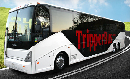 $25 Worth of Deluxe Bus Travel Between Arlington or Bethesda and New York City - Tripper Bus in Arlington