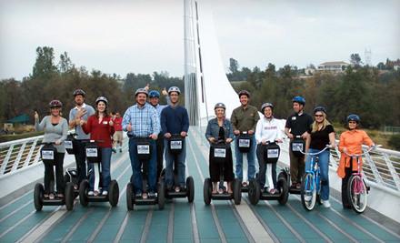 Garden Glide Segway Tour for 2 People - Shasta Glide 'n Ride in Redding