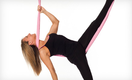 Three Aerial Silk Fitness Classes (a $105 value) - Fembody Fitness in Huntington Beach