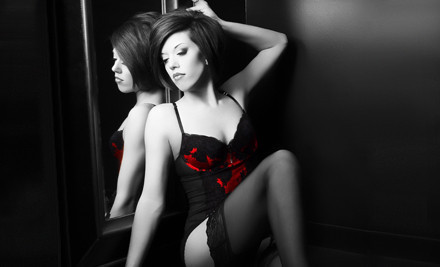 Boudoir Pinup Glamour Session (a $100 value) - Glamour Shots in Fairfax