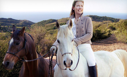 One-Hour Semiprivate Horseback-Riding Lesson for One (a $120 value) - Malibu Horses by Inge Halliday in Malibu