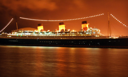 The Queen Mary - The Queen Mary in Long Beach