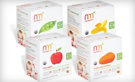 Variety 4-Pack (a $47 value) - NurturMe Organic Baby Food in