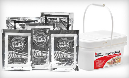 72-Hour Emergency Meal Kit for Two with Shipping (an $82 value) - Family Storehouse in