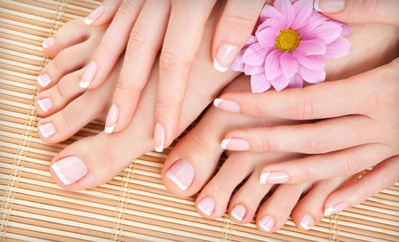 1 Spa Manicure and Spa Pedicure - Clear Skin Day Spa in Westmont
