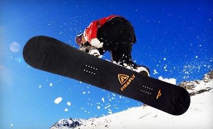 Adult Firefly Rampage Snowboard: 150 cm (a $240 value) - Firefly All-Mountain Snowboard in