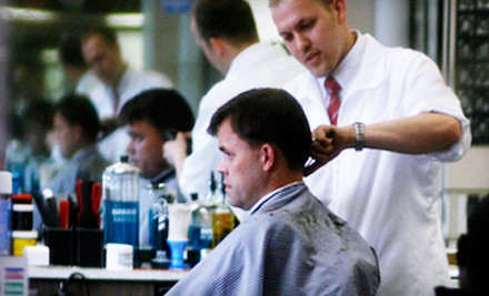 2 Haircuts - Ray's Barber Shop in Salt Lake City