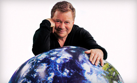 Shatner's World: We Just Live in It on Thurs., March 22 at 7:30PM: Rear-Balcony Seating - Shatner's World: We Just Live in It in Dallas