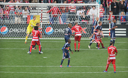 FC Dallas vs. Portland Timbers on Sat., March 17 at 7:30PM: East-Sideline Seating, Sections 122-129 - FC Dallas in Frisco