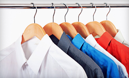 10 Pieces of Dry Cleaning at Mr. J's Cleaners on Midway Dr. in San Diego (a $32.50 value) - Mr. J's Cleaners, Saturn Cleaners, & Excellent Cleaners in San Diego